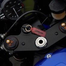 Brelok motocyklowy brelok ze skóry wołowej do modeli Yamaha YZF-R6 R6