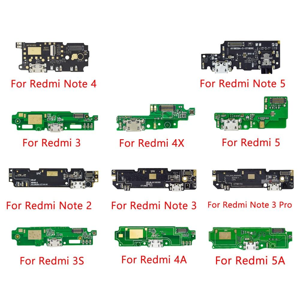 Usb порт для зарядки, гибкий кабель, разъем с микрофоном для Xiaomi Redmi Note 2 3 4 5 Plus Pro 5A 6 Pro 4x 4A 6A|Шлейфы для мобильных телефонов|   | АлиЭкспресс