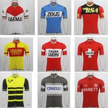NEW Bicycle mtb mx Racing Retro cycling jersey ropa Ciclismo men short sleeve bike wear jersey Summer classic cycling clothing стоимость
