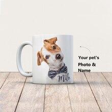 Custom Pet Coffee Mug Custom Magic Mugs Dog Cat Photo Personalize Dog Mug Add Your Photo 11oz Tazas De Ceramica Creativas R2016