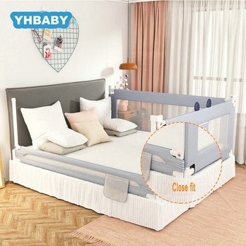 цены Baby Playpen Bed Safety rails For Babies Children Fence Baby Bed Fence Safety Gate Security Fencing Children Guardrail