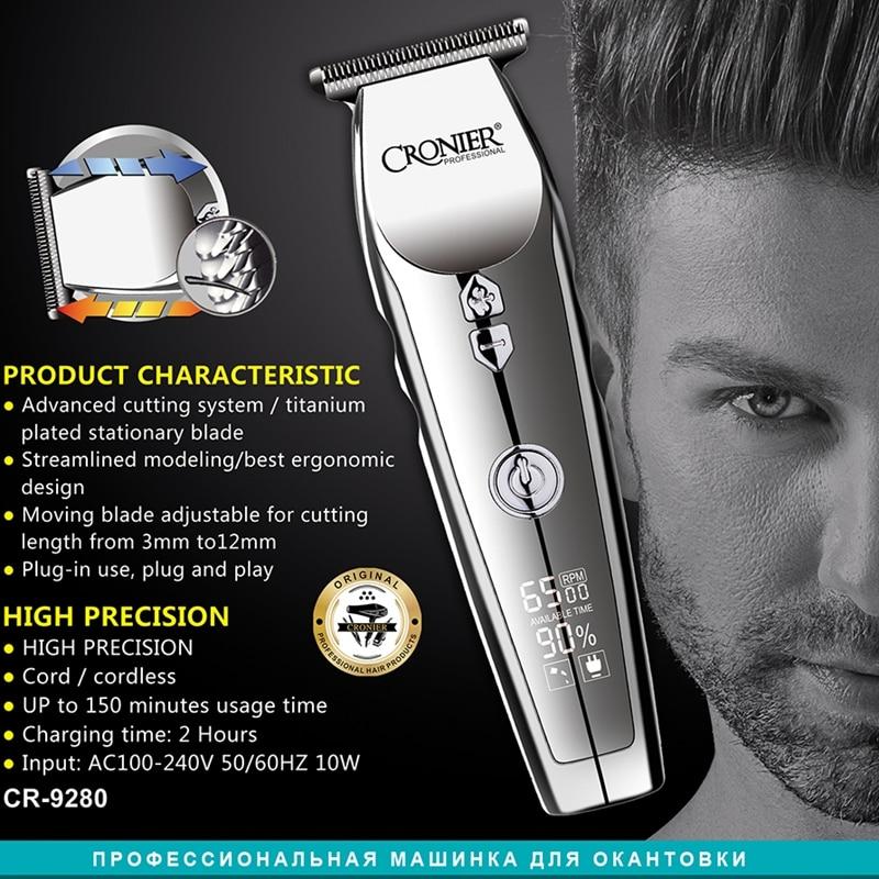 Professional men hair trimmer barber beard trimmer barber hair clipper electric hair cutting machine powerful 3 speed face body