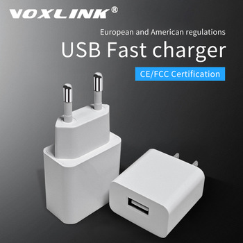 VOXLINK USB Charger 5V 2.1A Universal Portable Travel Wall Adapter for iPhone X/8/7 Plus /6s Plus iPad Pro/Air Samsung Galaxy 1
