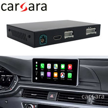Draadloze Carplay Voor Au Di A4 B8 B9 8 K Mmi 3G 2010 ~ 2020 Interface Rear Front Camera android Originele Display Verbeteren Decoder(China)