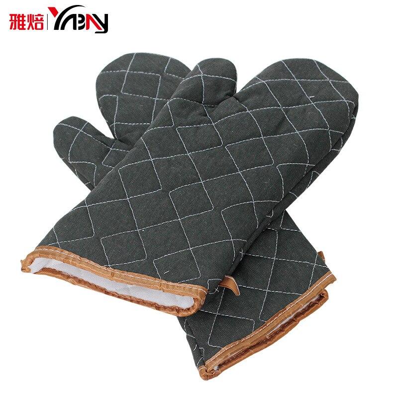 Купить изолированные перчатки зеленого размера плюс из хлопка кухонные