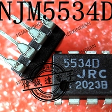 1Pieces new Original NJM5534D JRC5534D 5534D DIP8    In stock real picture
