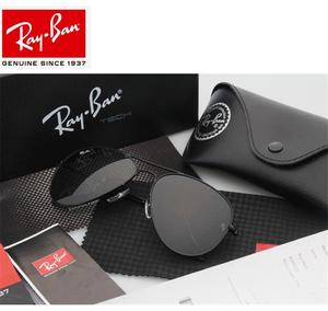 2020 RayBan RB3025 Outdoor Glassess RayBan Sunglasses For Men/Women Retro Sunglasses Ray Ban Aviator no3025 Snap Sunglasses