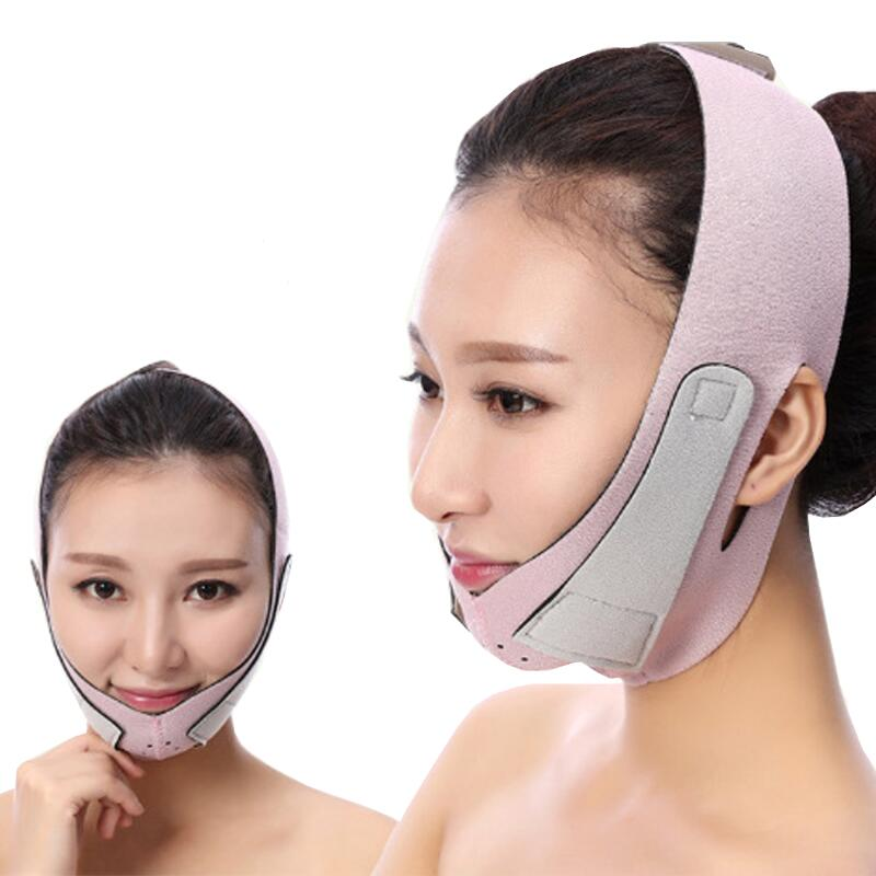 Face Lift Tools Thin Face Mask Slimming Facial Thin Masseter Double Chin Skin Thin Face Bandage Belt Women Face Care Beauty Kit