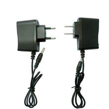 Cargador de EE. UU. Y Europa DC4.2V 3,5mm linterna cargador de fuente de alimentación 4,2 V 500mA AC adaptador de potencia inteligente 18650 Li ion cargador de batería