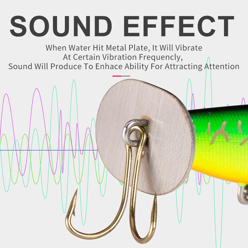 Unito BLADERTAIL VIB esche Da Pesca Piombo Jigging Richiamo Duro di Vibrazione Coda produce suono Sinking Esche Artificiali Wobblers