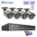 H.265 POE Bewakingscamera 4CH 1080P NVR Kit 2.0MP Audio Microfoon CCTV Grey IP Camera IR Outdoor Video surveillance Set