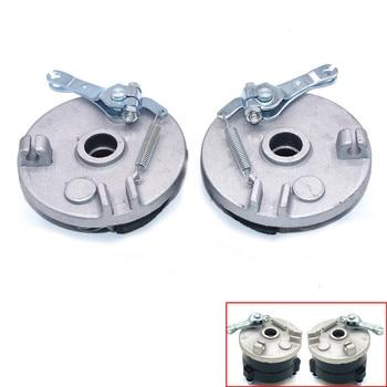 Eje de rueda de tambor de freno izquierda/derecha para Jinling Fuxin 49CC,50CC,90CC,110CC 125CC niños ATV UTV Quad Bike Go Kart piezas