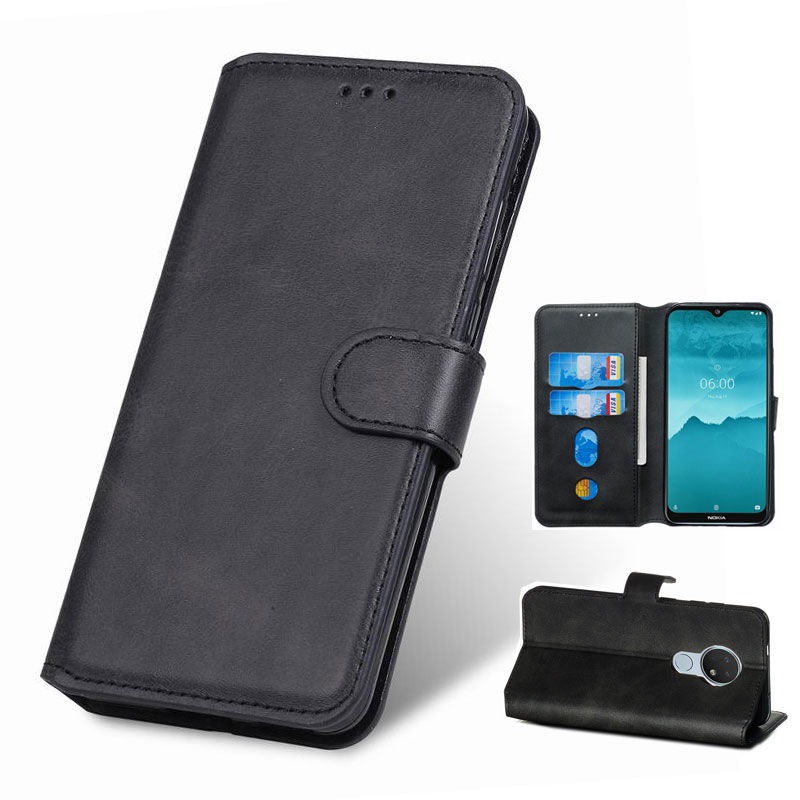 Case For <font><b>NOKIA</b></font> 6.2 7.2 Leather Case Cover For <font><b>Nokia</b></font> 7.1 8.1 3.1 1 Plus <font><b>3.2</b></font> 4.2 <font><b>2019</b></font> X7 X7i 2.2 9 Pure View Flip Phone Case 360 image