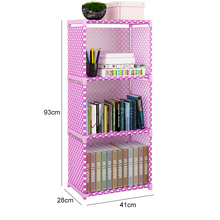 Bookshelf Standing Floor Home-Organizer 6 for Storage-Cabinet Easy-Assembled Simple 5/6-Layer