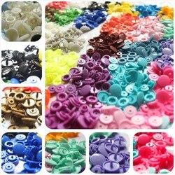 50 ensembles/lot boutons pression bébé diamètre 12mm KAM T5 vêtements accessoires boutons résine