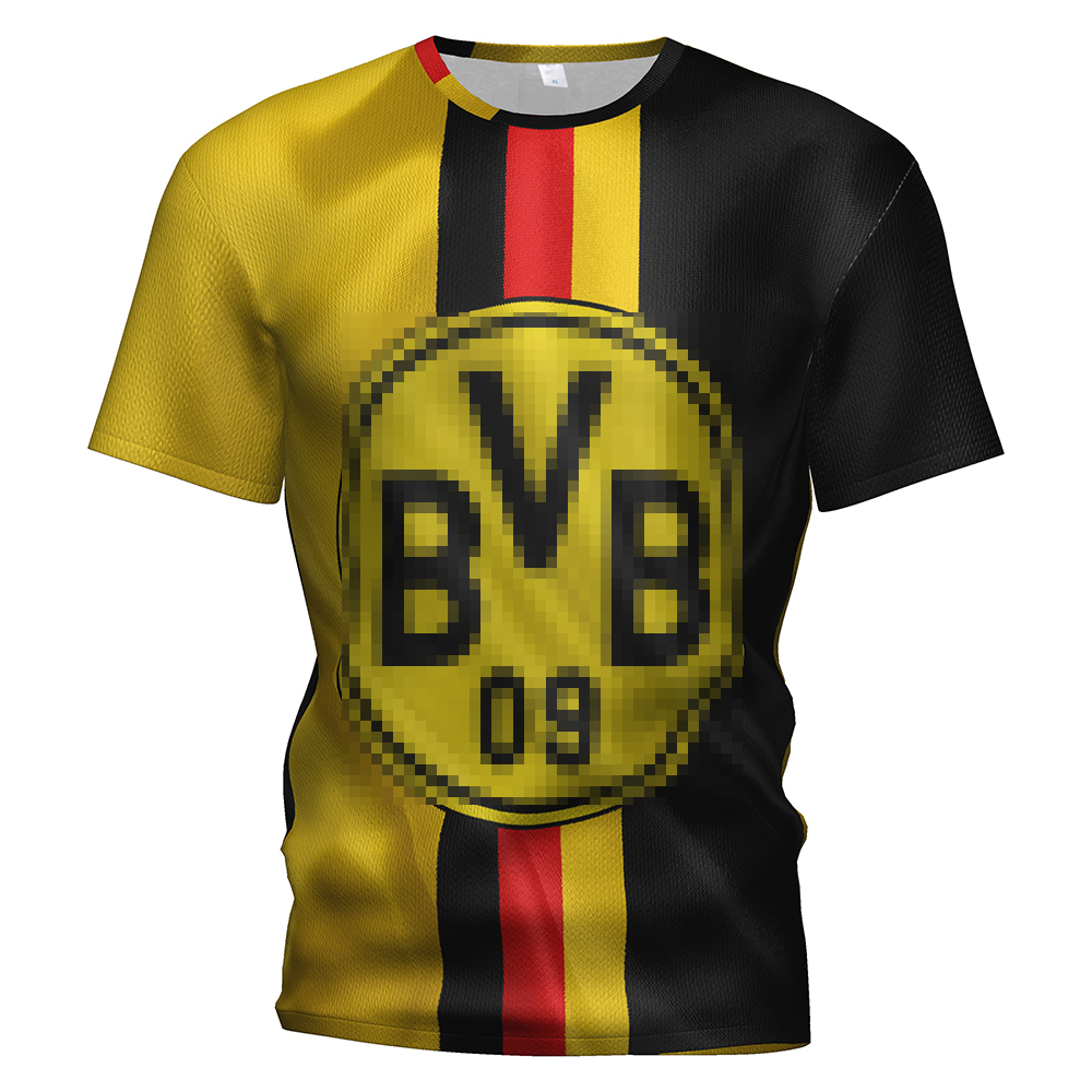 Borussia Dortmund Soccer Jersey 2018 2019 Football 3d T Shirt Tracksuit Dortmund Training Kit Borussia Dortmund Kids Sweatshirt