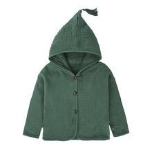 Весенне осеннее пальто для маленьких мальчиков и девочек модная