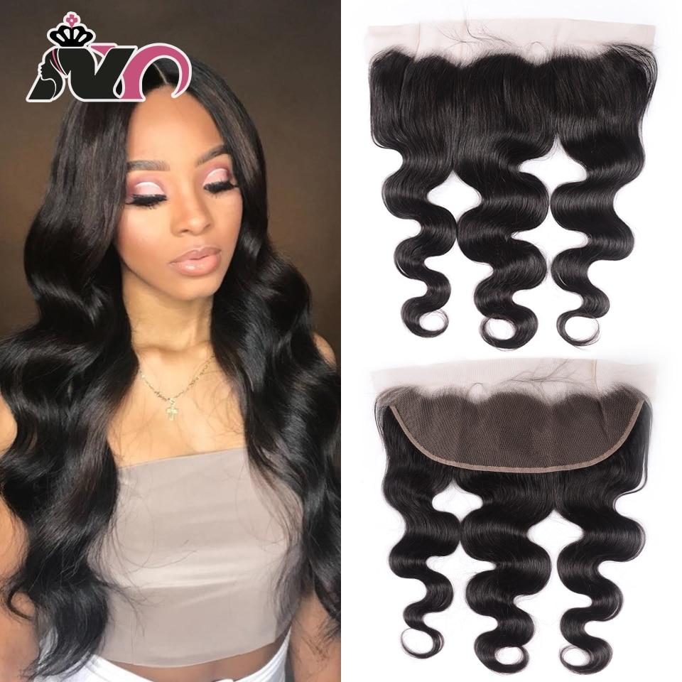 NY Hair Body Wave Frontal Ear To Ear Lace Frontal Closure 13*4 Body Wave Human Hair Lace Frontal 8