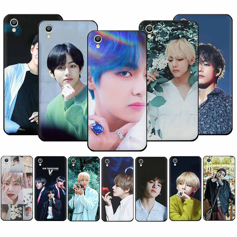 Kim V Taehyung Soft Phone Case Voor Oppo A5 A7 A9 A37 A39 A57 A59 A73 A77 F1Plus F5 F7 f9 F11 R9S R15 R17 Pro