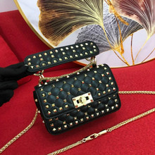 Female Bag Sheepskin-Leather Mini Single-Shoulder Women's Luxury Brand-New Portable Diagonal