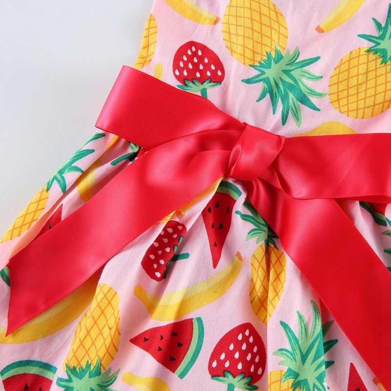 Весеннее милое платье для домашних животных костюмы для собак фруктовый узор горячее Летнее платье одежда для домашних животных пляжное платье Чихуахуа Йорк