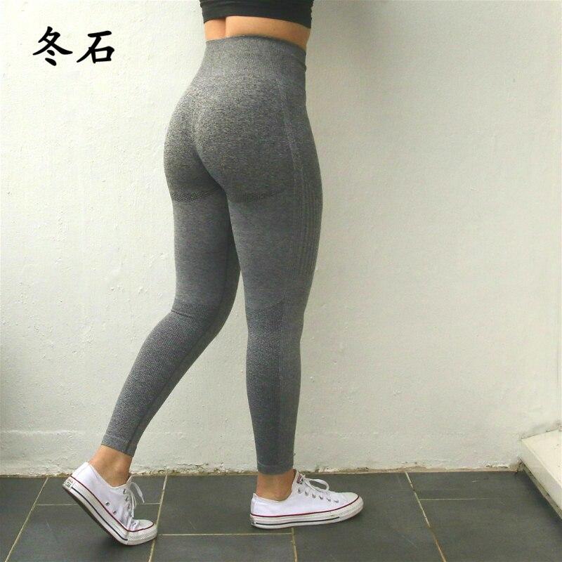 Sports Leggings Women Ombre Seamless Leggings High Waisted Yoga Pants Woman Sport Leggings Training Tights Gym Fitness Leggings