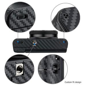 Image 5 - 안티 스크래치 카메라 바디 스킨 프로텍터 탄소 섬유 스티커 보호 필름 키트 소니 RX100 마크 VII VI VA V IV III 7 6 5 4