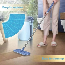Fiber Mop Pads Reusable Pros Head Wet Dry Mops Refill Fit for Most Spray and Reveal
