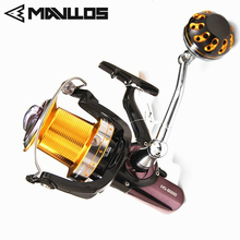 Mavllos Long Cast Saltwater Jigging Fishing Reel 7000 8000 11000 Model Aluminum Alloy Handle Boat Surf Fishing Spinning Reel mavllos saltwater fishing spinning reel 7000 8000 11000 aluminum alloy handle spool long shots jigging reel boat fishing reels