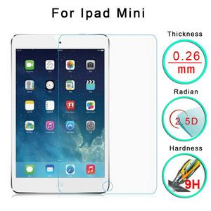 Clear Tempered Glass For iPad Mini 1 2 3 Screen Protector Cover Film for Apple Tablet Mini Scratch-proof Explosion-proof Film