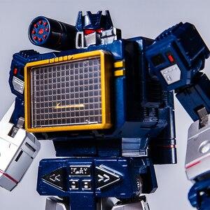 Image 4 - Transformation G1 THF 01J THF01J Soundwave OneเทปWalkman MasterPiece KO MP13อัลลอยด์Oversizeอะนิเมะรูปหุ่นยนต์ของเล่น