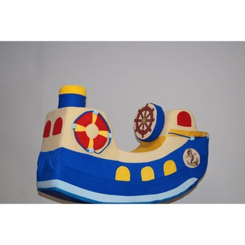"""Ride On Animal Toys PAREMO  Baby rocking chair \""""Boat\"""""""" Blue games for boys and girls for children toys for children wheelchairs baby toys animal horse dinosaur rocking chair wheelchair"""""""