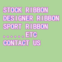 DHK many sizes 50yards 100yards brand sport stock Ribbon printed grosgrain DIY OEM decoration D