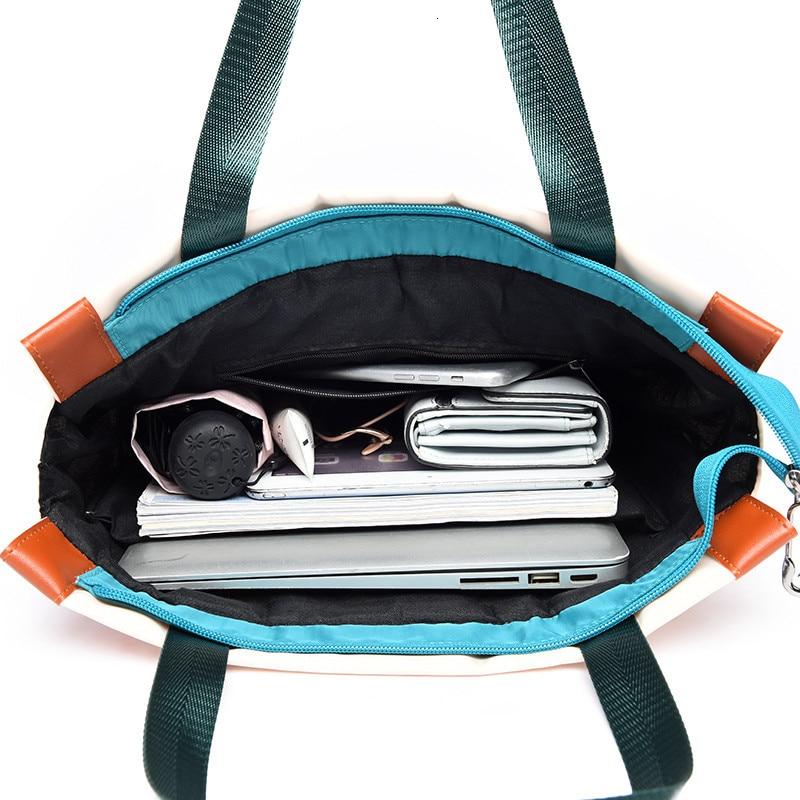 2019 Travel Business Laptop Anti Theft Backpack Waterproof Autumn Winter Contrast Color Nylon Big Capacity School BackBags Bolsa