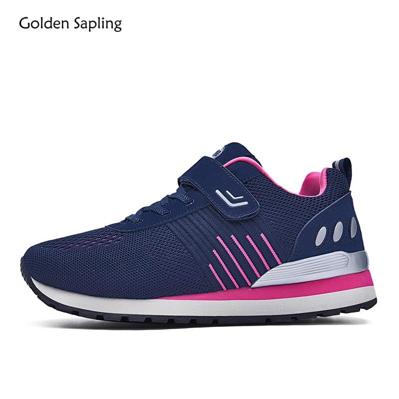 Golden Sapling Winter Sport Sneakers Women Comfortable Design Lightweight Platform Soft Cushioning Women's Running Shoes Sports