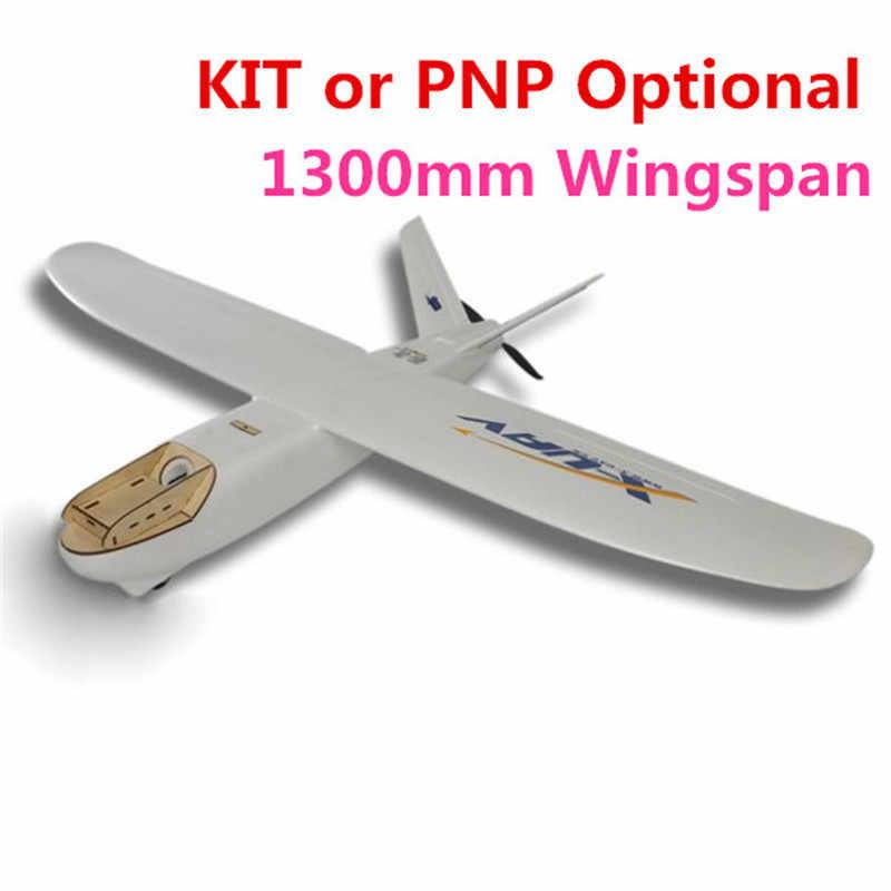 X-uav Mini Talon EPO 1300 millimetri/1718 millimetri V3 Apertura Alare V-tail FPV RC Modello di Radio A distanza di Controllo Aereo Aereo Kit/PNP Giocattoli per il Ragazzo