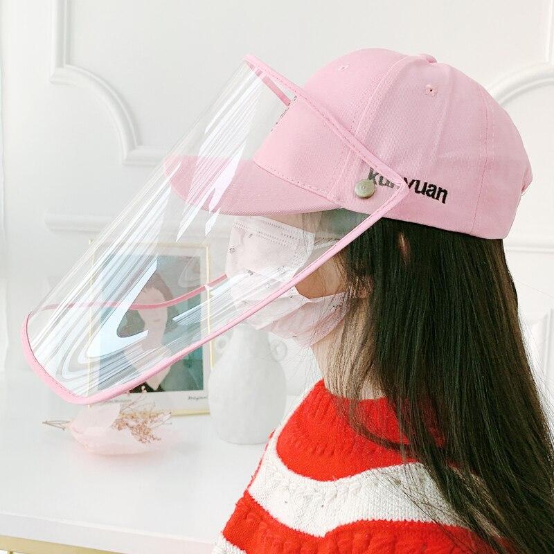 A167 Virus Protective Hats Children Anti-Virus Mask Hat Teens Virus Protection Baseball Cap Kids Anti-droplet Mask Hats