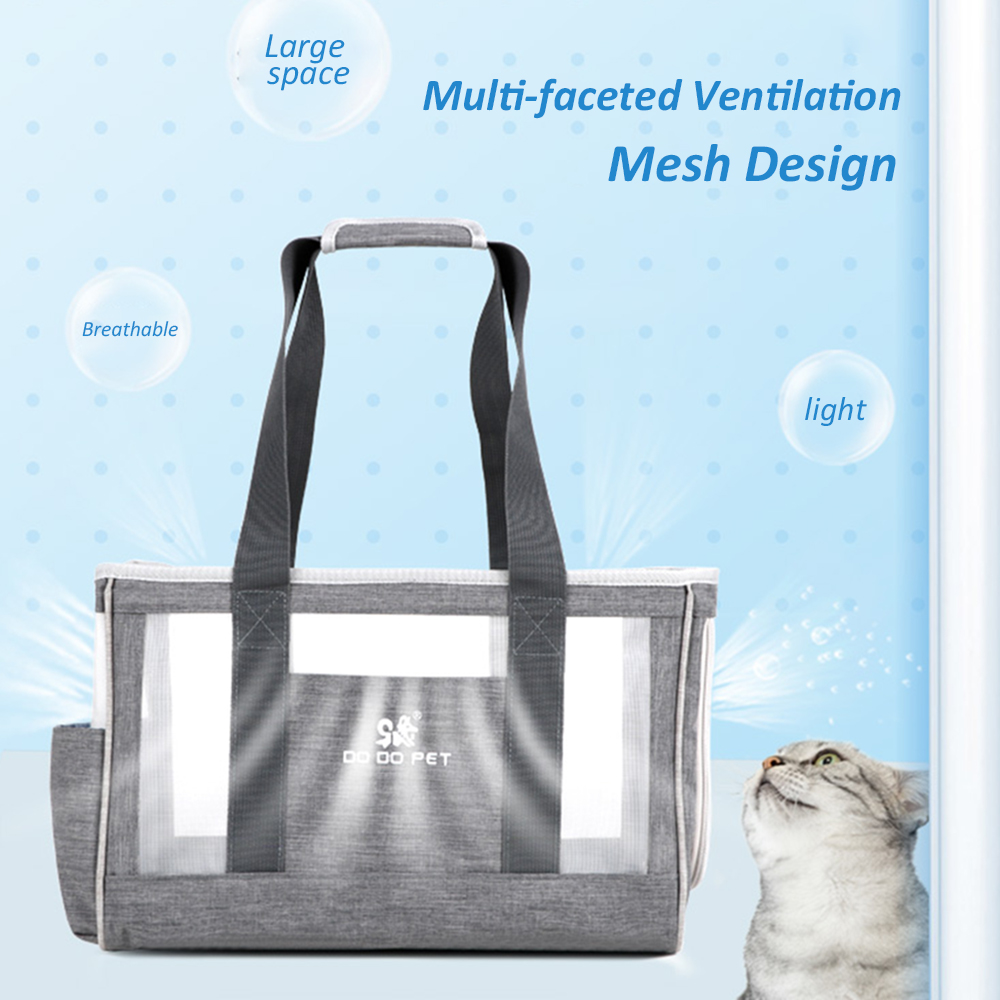 Portable Pet Cats Dogs Carrier Cat Dog Pet Travel Bag Designed for Travel Hiking Walking Outdoor for Weight within 6kg