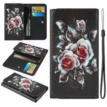 For Vertex Impress Win Wolf Zeon 3G 4G Vivo NEX A Dual Display V11 Pro Painted Wallet Style With Card Slot Cover Bag Phone Case