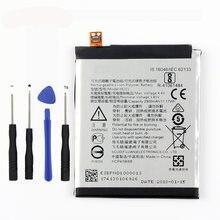 Оригинальный аккумулятор he321 для телефона nokia 5 две sim