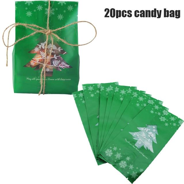 green candy bag