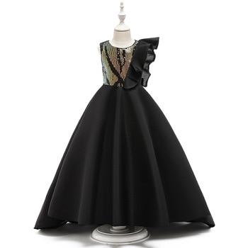 White Tulle first communion dresses for girls Vestido Daminha Casamento Luxury Ball Gown Organza Flower Girl Dresses