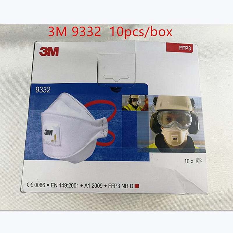 respiratore 3m 9332 ffp3 nr d