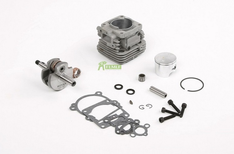 4 Bolt 32cc Upgrade 36cc Cylinder Kit for 1/5 Scale Hpi Rofun Rovan Km Baja Losi 5ive T FG Engines Rc Car Parts