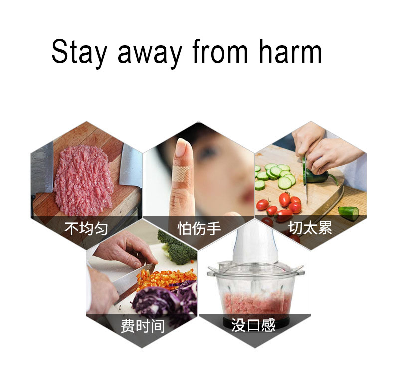 Hcbef5b9880d446c0ab8ad82935c256d8G Manual Food Chopper for Vegetable Fruits Nuts Onions Quick Pulling Chopper Pull Mincer Blender Mixer Food Processor Kitchen Tool