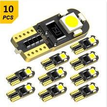 10x LED T10 W5W 168 2825 światło parkingowe żarówka dla Citroen C5 C3 C4 Picasso Xsara Berlingo Saxo C2 C1 C4L DS3 C8 lampa pokojowa