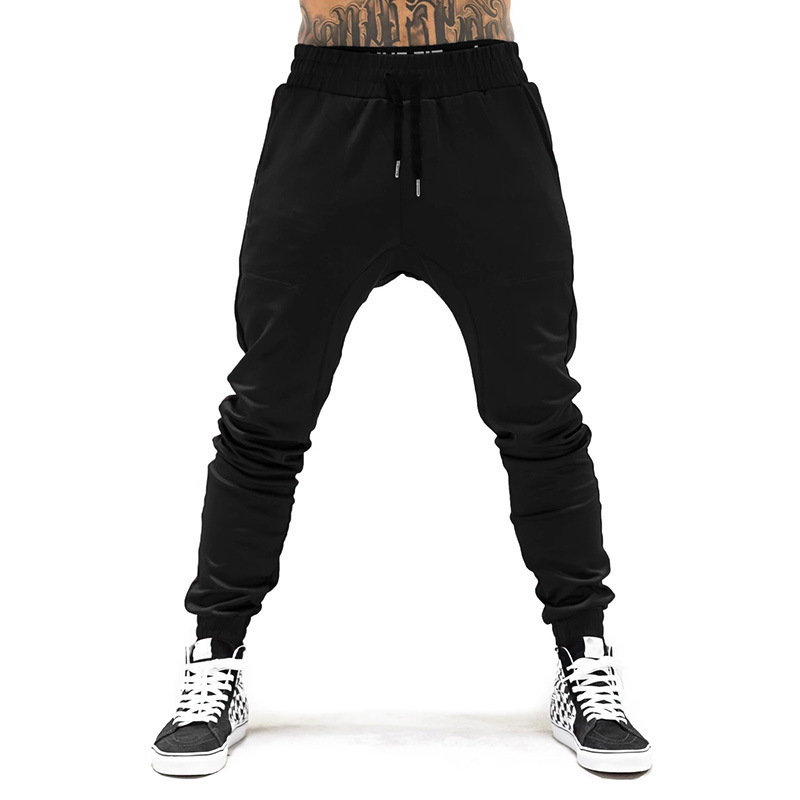 New Autumn Brand Mens Joggers Pants Cotton Streetwear Sweatpant Gym Sporting Trousers Fitness Bodybuilding Sweat Pants