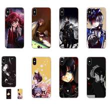 Black Butler Anime Soft TPU Covers For Xiaomi Mi3 Mi4 Mi4C Mi4i Mi5 Mi 5S 5X 6 6X 8 SE Pro Lite A1 Max Mix 2 Note 3 4(China)