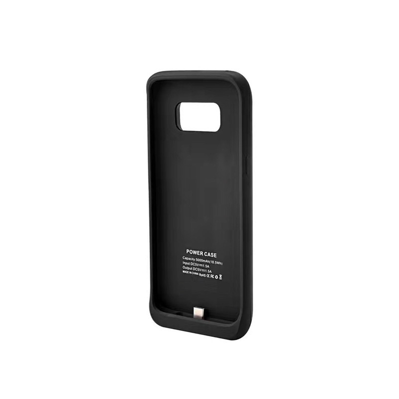 External 5000mAh Battery Case For Samsung Galaxy S8 Plus Ultra Thin Power Bank Case Battery Charger Pack Backup Charging Case
