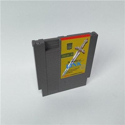 링크의 모험 Zeldaed II 2   72 핀 8 비트 게임 카트리지